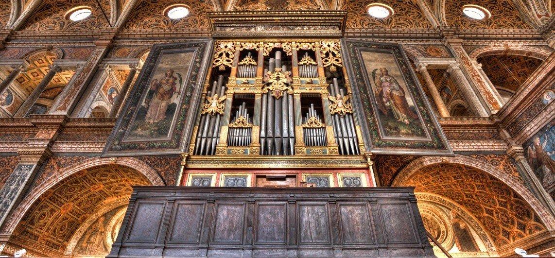 Milano S Maurizio Al Monastero Maggiore Mascioni Organs